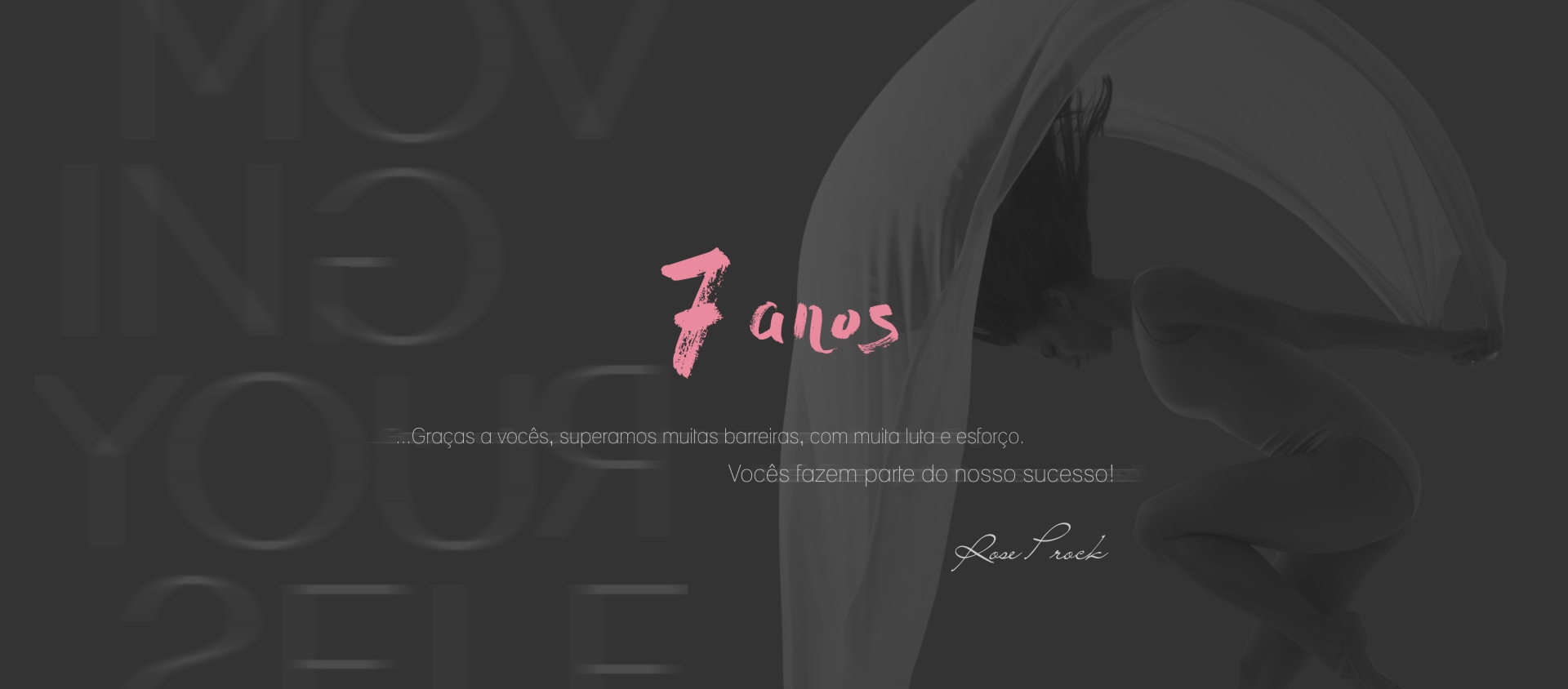 Evidence - 7 anos - banner