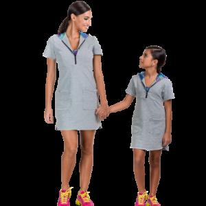 Vestido Moletom - Infantil