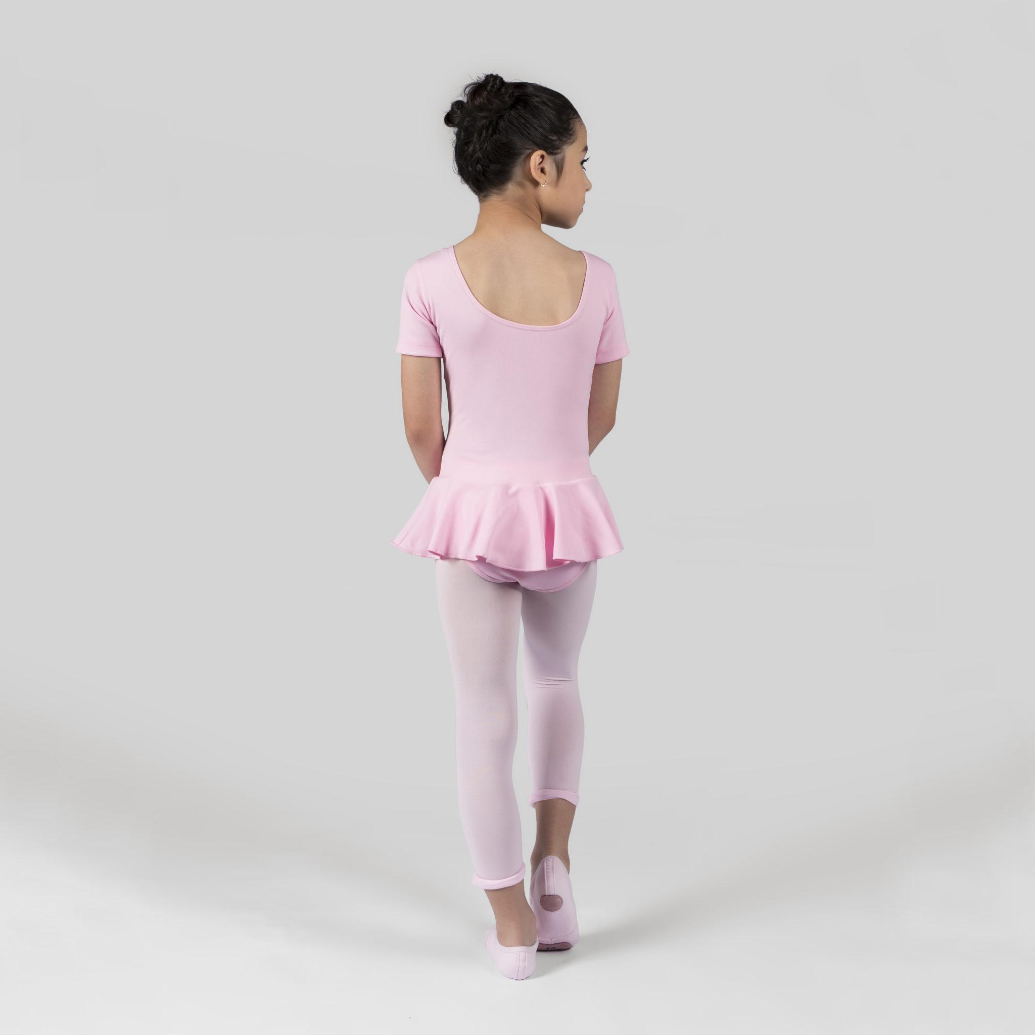 c2e114092e Collant Com Saia de Helanca Decote Redondo 120 - Evidence Ballet ...