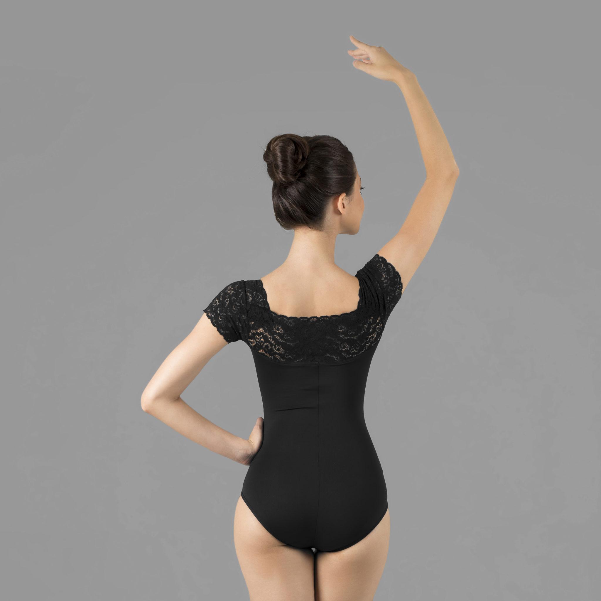 2a2b2852fd Collant Em Amni Com Renda 527 - Evidence Ballet - Loja Virtual