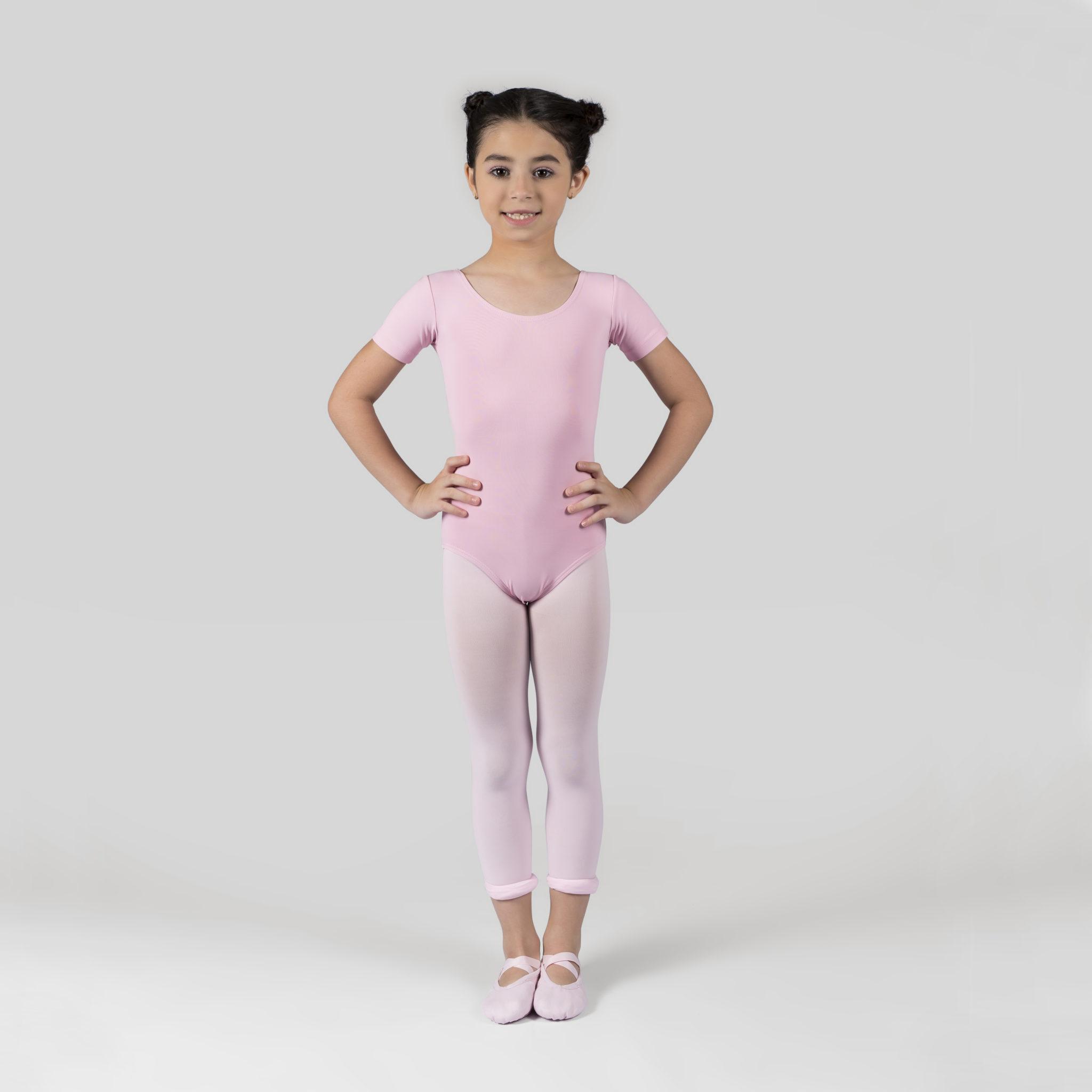 9da5eca30d Collant Meia Manga Decote Redondo Adulto- 106 - Evidence Ballet ...