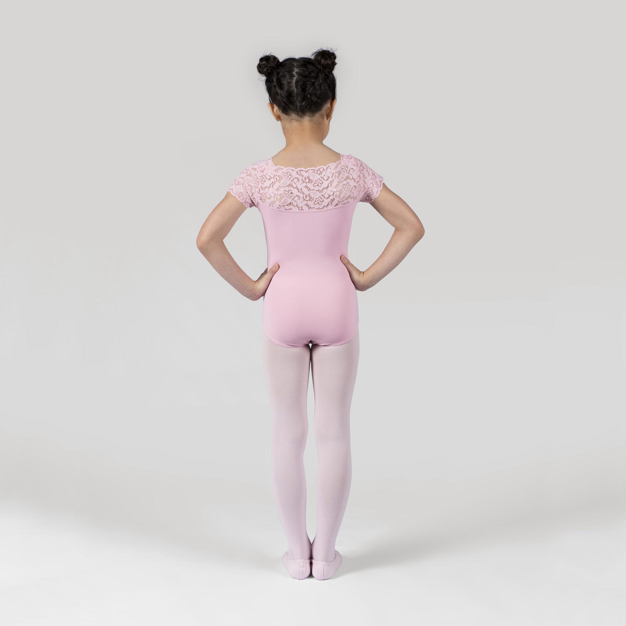 b08b06bcb3 Collant Em Amni Infantil Com Renda - 712 - Evidence Ballet - Loja ...