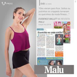 Evidence Ballet - Fevereiro 2018 - Revista Malu