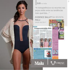 Revista Manu - Evidence Ballet - Setembro 2017