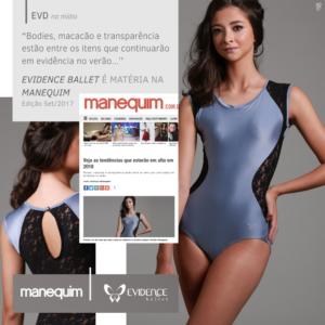 Revista Manequim - Evidence Ballet - Setembro 2017