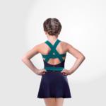 600x600 Collant Em Amni Decote Quadrado Infantil - 987 - Evidence Ballet