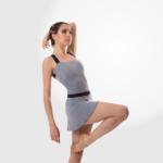 Collant Em Amni Decote Quadrado Adulto - 988 - Evidence Ballet