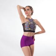 Top Decote Nadador Em Lycra - 990 - Evidence Ballet