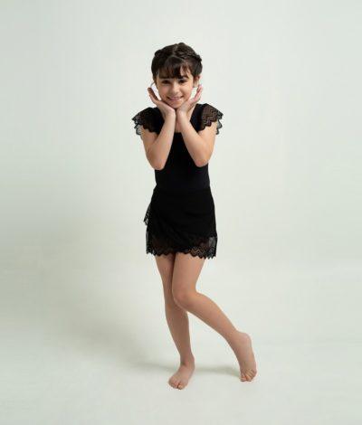 Saia Transpassada Infantil- 1106