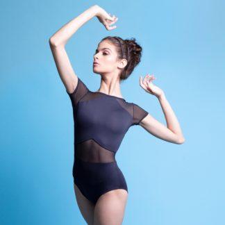 Collant Adulto Manga Curta Em Amni - 1162 -Evidence Ballet (2)
