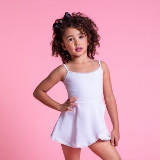 Vestido infantil de alcinha em Amni tecido - 1170 (3)