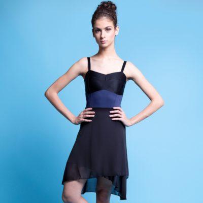 Saia Mullet Bailarina Tecido Crepe transpassada, normalmente usadas por bailarinas que preferem peças mais soltinhas, e com leve transparência.